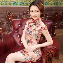 杨钰莹登两大卫视春晚 穿旗袍唱民歌