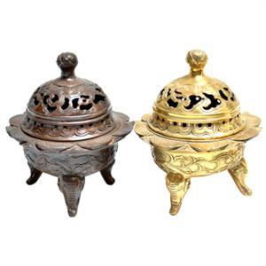 玉器收藏:清代老玉镂雕香囊 材质珍贵工艺精湛