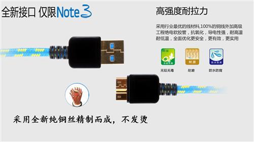 USB2.0和3.0数据线