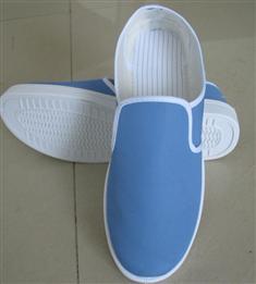 天蓝中巾鞋