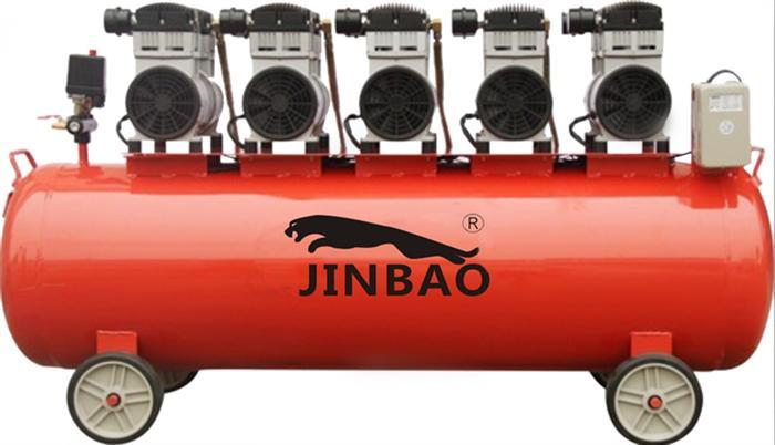 勁豹靜音無油空壓機的維修及保養
