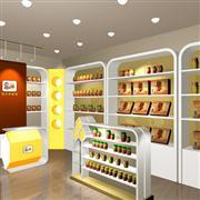 武汉当当食品店货架