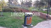 西安東尚觀湖小區訂購西安戶外垃圾桶_分類垃圾箱_環衛垃圾桶_公園座椅_陜西園林椅!