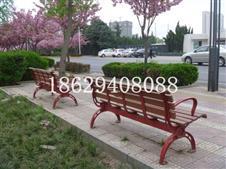 西安高新區新紀元公園訂購陜西志誠木塑休閑椅_戶外座椅_公園椅_弧形樹池坐凳!