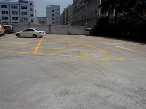 深圳龍崗熱熔劃線施工工程