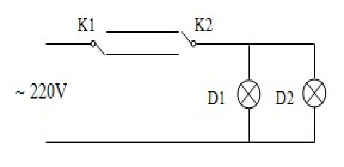 两地控制一灯的接线方法图片