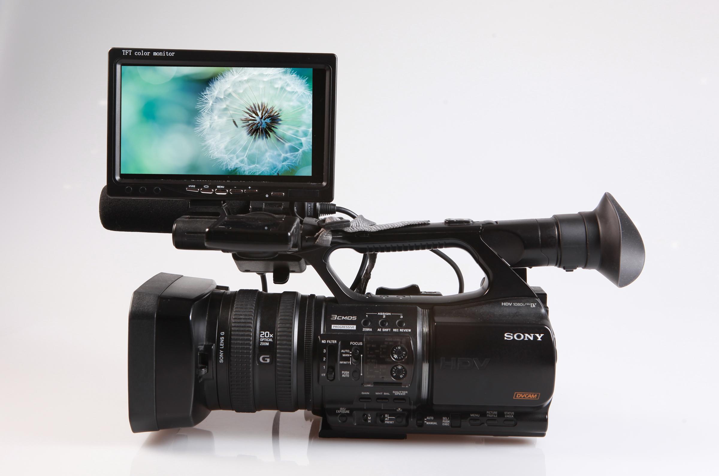 jd 01hi 7寸液晶屏 800 480 摇臂摄影机高清图片