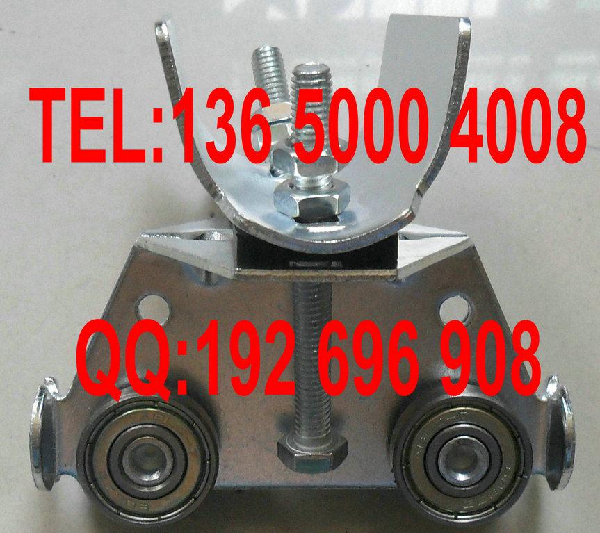 不锈钢滑轮扁线滑轮吊轨滑轮,不锈钢小车扁线cad里快捷键拉伸的图片