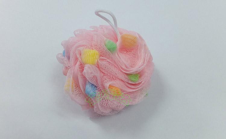 单个彩色沐浴球展示