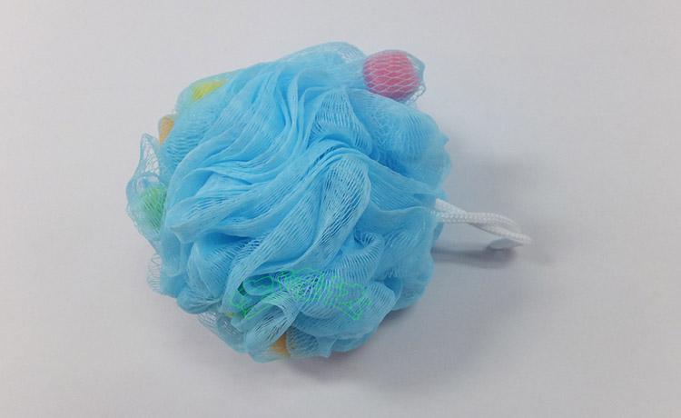 青色海绵浴球