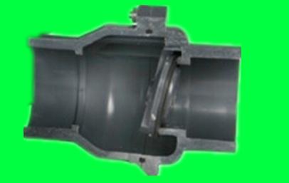 pvc塑料翻板止回阀 逆止阀图片