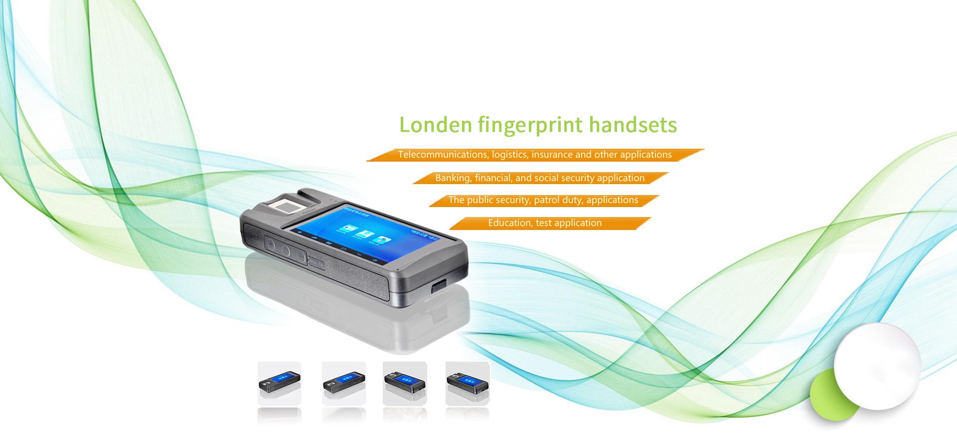 Fingerprint handheld terminal