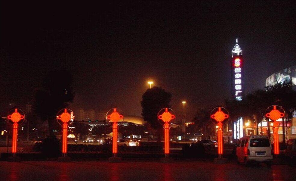 LED中国结工程展示