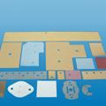 高导热K10,K6,K4硅胶片