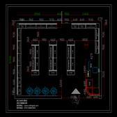 文具店货架平面图