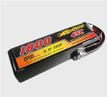 Model aircraft lithium battery
