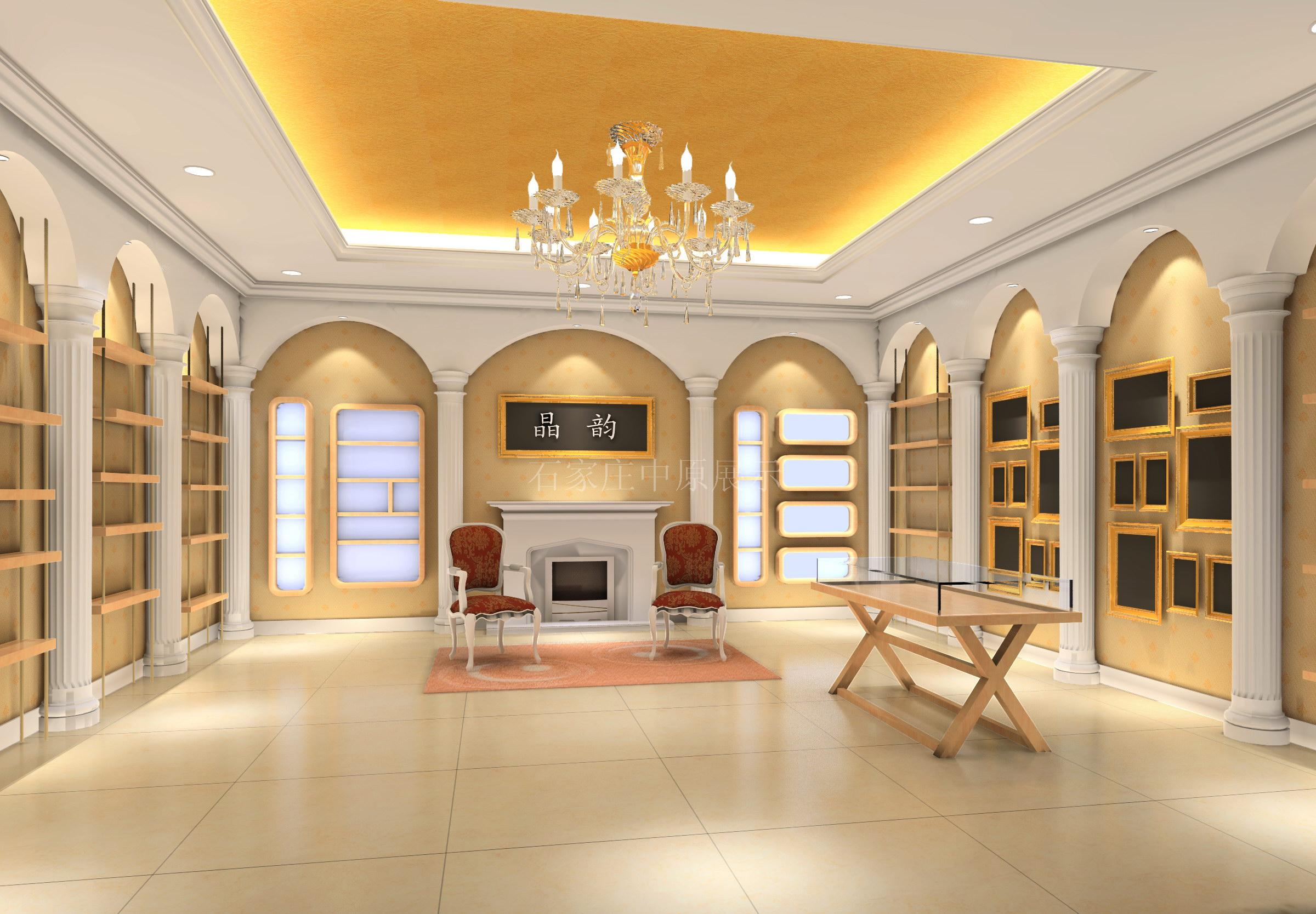安装,效果图设计,烤漆柜台装修 石家庄至尚装饰工程有限公司 高清图片