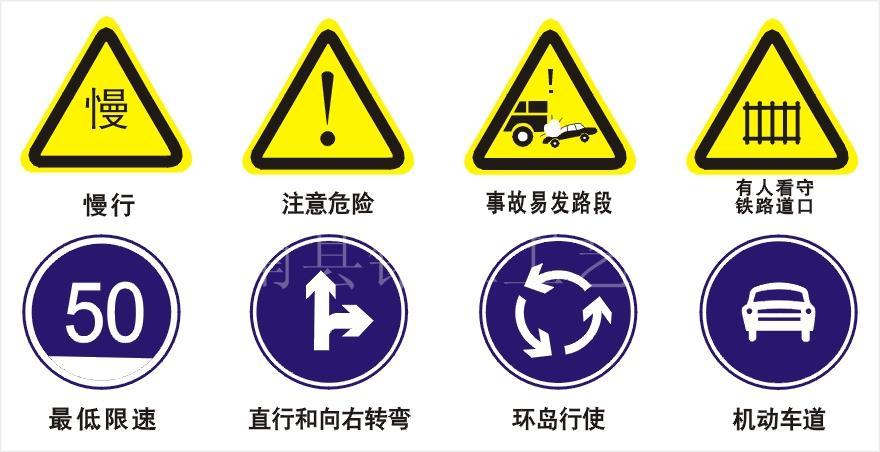 名称:交通安全标志牌