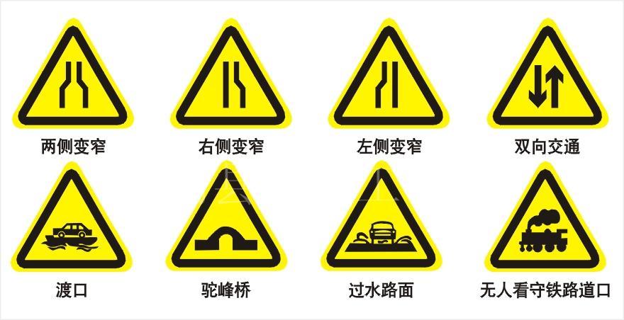 交通安全标志牌