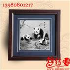 蜀锦熊猫天伧之乐
