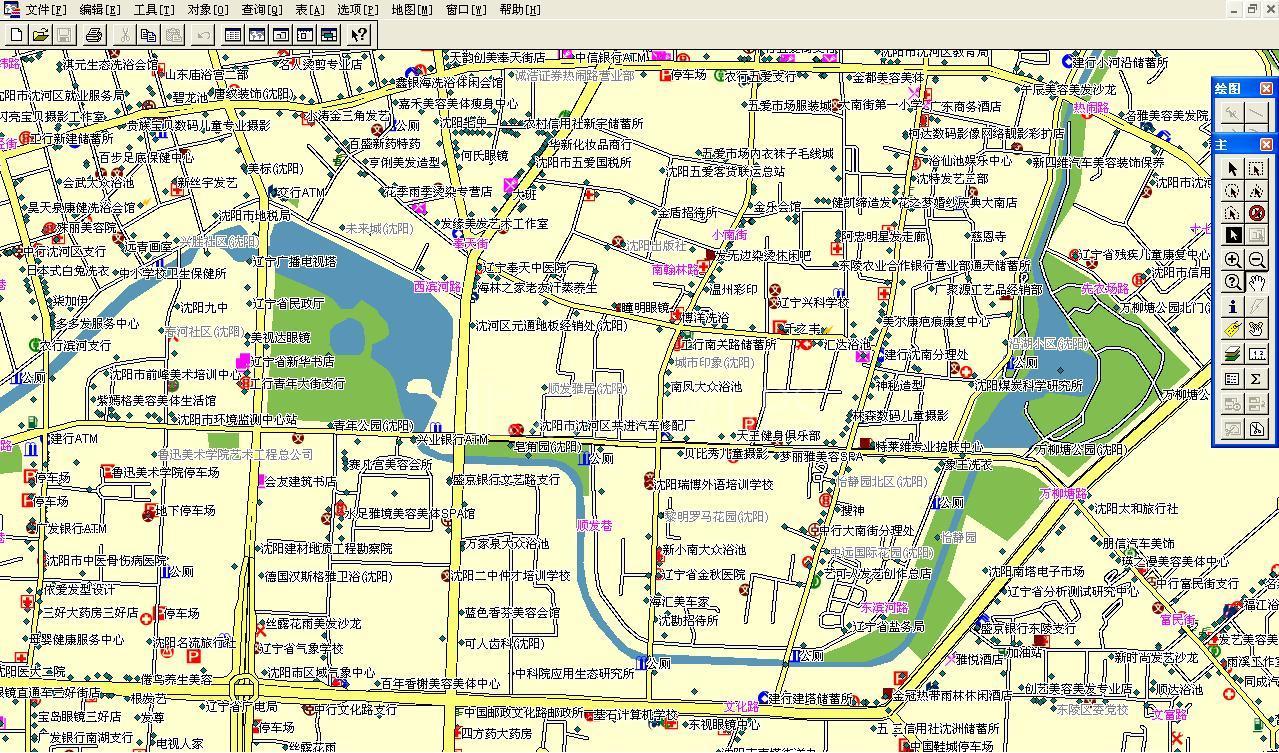 沈阳市电子地图 沈阳市电子地图下载 沈阳市电子地图全图