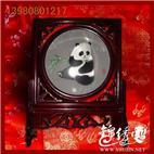 刺绣熊猫,蜀绣座熊猫