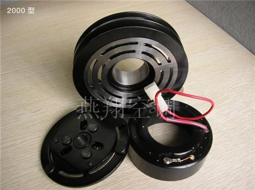 桑塔纳2000汽车空调电磁离合器汽车空调压缩机配件高清图片