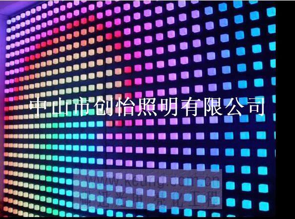 led幕墙灯,led背景墙,led酒吧屏