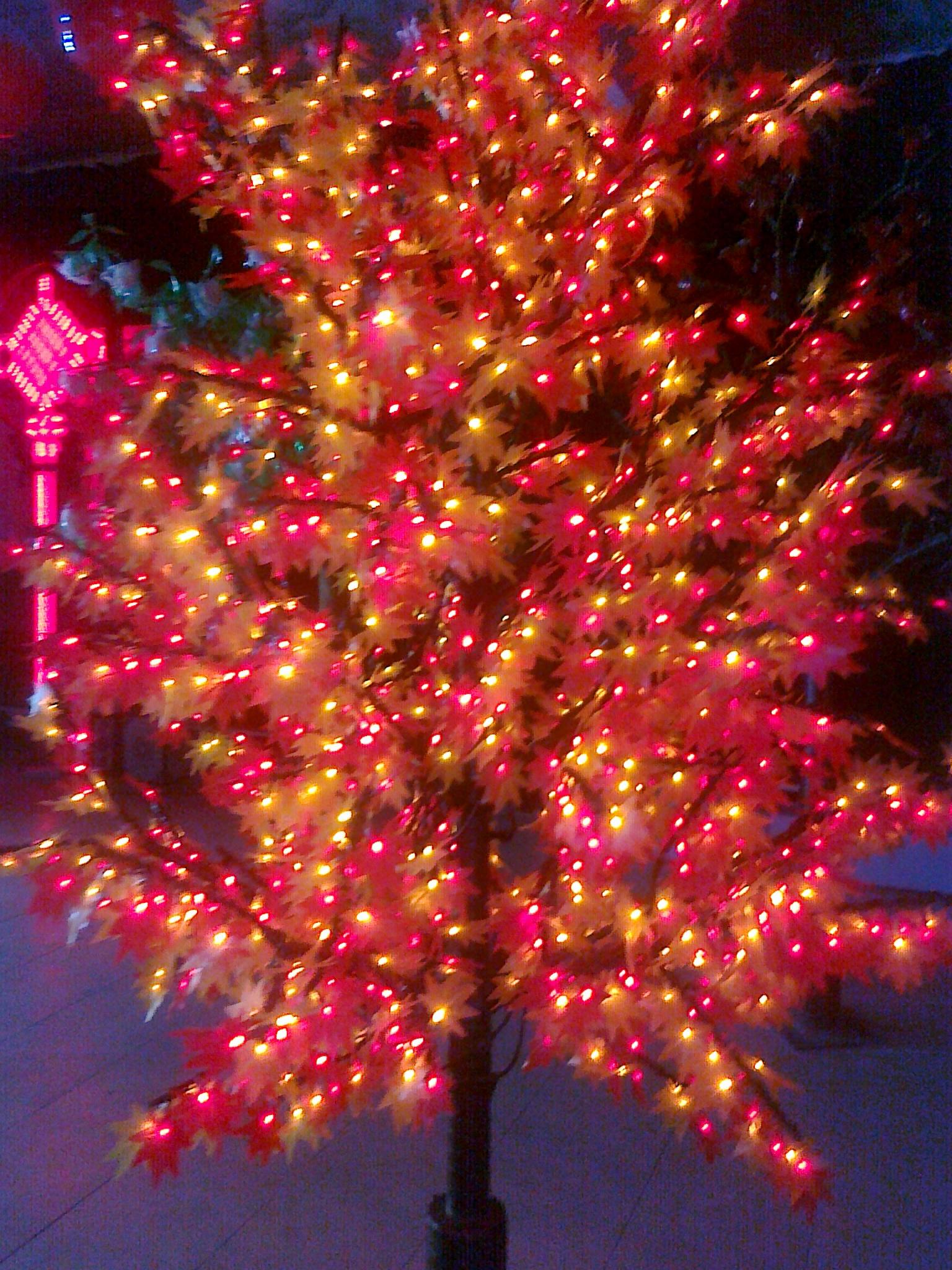 led枫叶灯 led树灯系列