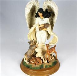 天使摆件 树脂工艺品 欧式