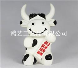 白色奶牛储钱罐