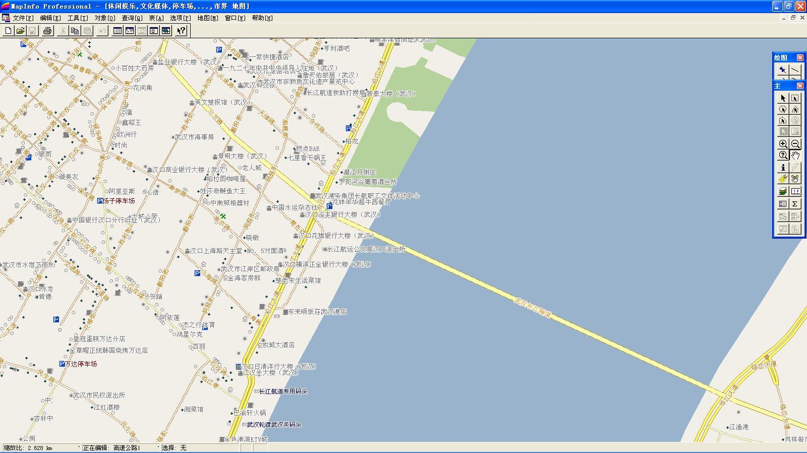 武汉市_产品展示_gps电子地图_gis电子地图_mapinfo图片