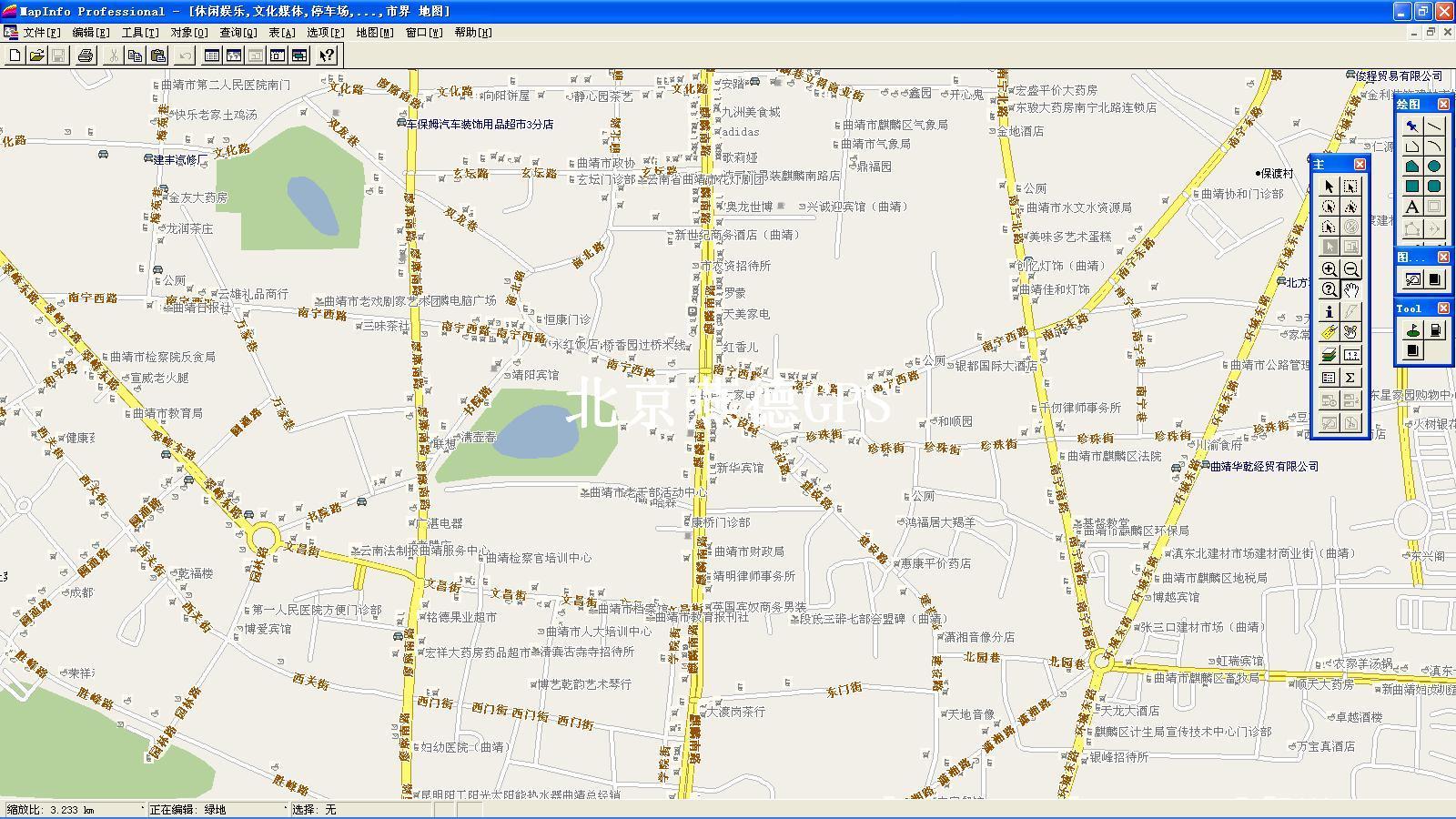 有经纬度的上海地图