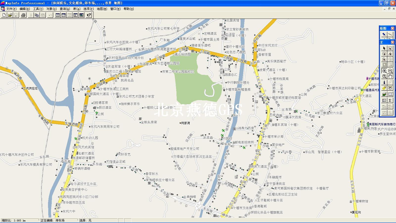 十堰市区地图图片大全下载;