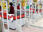 Supermarket goods prevent stealing and alarm system