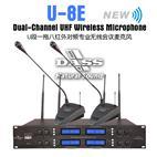 U-8E(UHF一拖八红外线自动对频无线会议话筒)