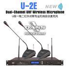 U-2E(UHF一拖二红外线自动对频无线会议话筒)