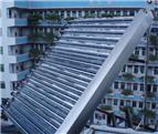 客户太阳能开水器工程