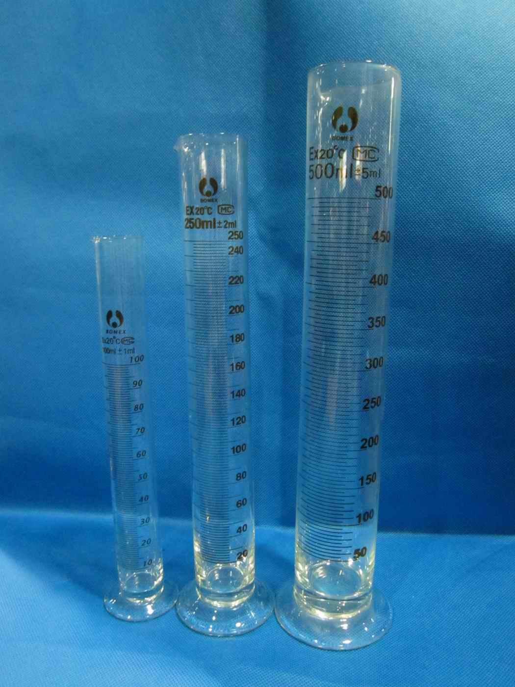 给你一个10毫升量筒 一根滴管 一杯水,你能否测量一滴水的体积