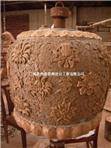 古代大鼎雕塑