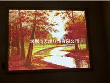 LED三维立体超薄灯箱-红树林