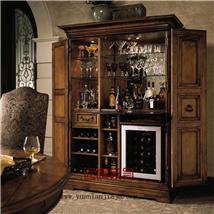 中式家具-高档个性酒柜