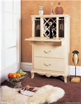 美式古典家具-单门酒柜