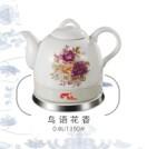 陶瓷鳥語花香電水壺