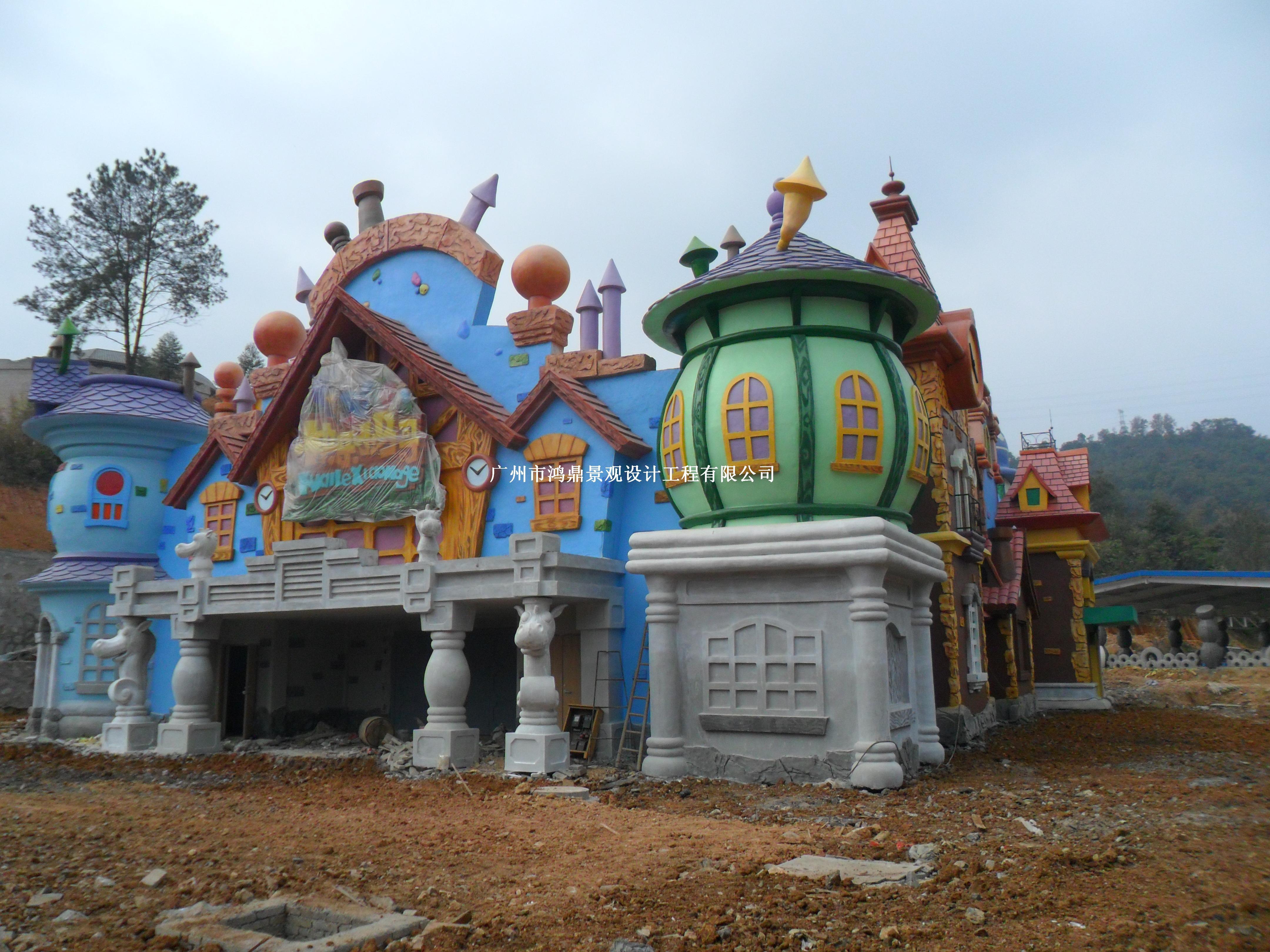 儿童景观雕塑_广州鸿鼎景观设计工程有限公司