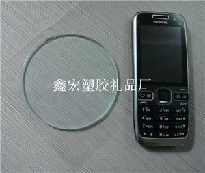 圆形透明pu汽车手机防滑垫 pvc酒吧垫 防滑垫 硅胶制品 行高清图片
