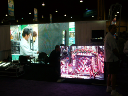 LED電子室內全彩廣告顯示屏