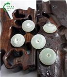 玉石標準件-玉器算盤珠加工