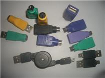 USB转PS/2鼠标键盘转接头