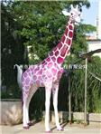 玻璃钢长颈鹿